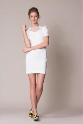 فستان نسائي كلاسيكي قصير