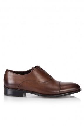 حذاء رجالي مع درزة  _ بني