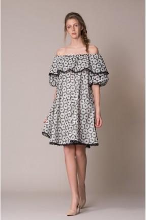 فستان نسائي مورد قصير سبور