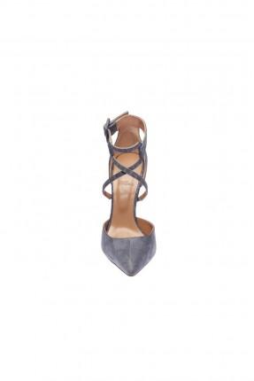 حذاء نسائي موديل حزام من الاعلى - ازرق فاتح