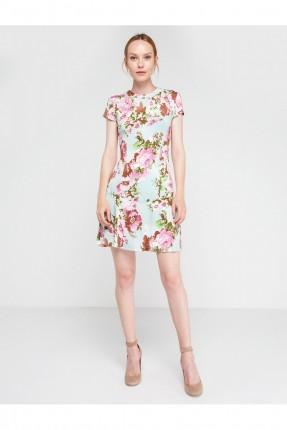 فستان نسائي سبور مورد قصير