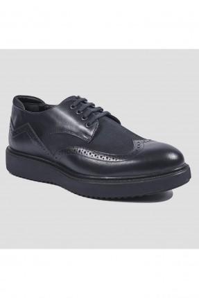 حذاء رجالي جلد الامام ومن الجوانب رسمي
