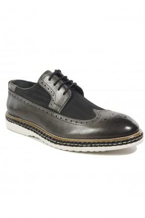 حذاء رجالي جلد مفرغ سبور شيك