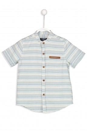 قميص اطفال ولادي سبور مخطط