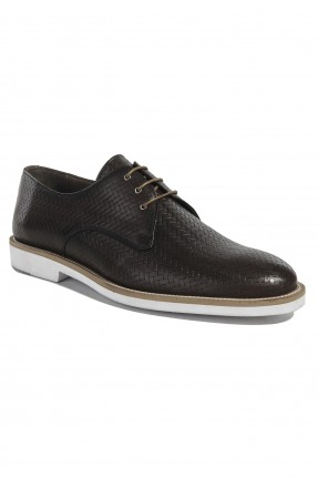 حذاء رجالي جلد مجدول رسمي