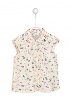 قميص اطفال بناتي مزخرف