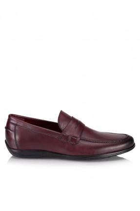 حذاء رجالي مع درزة _ خمري