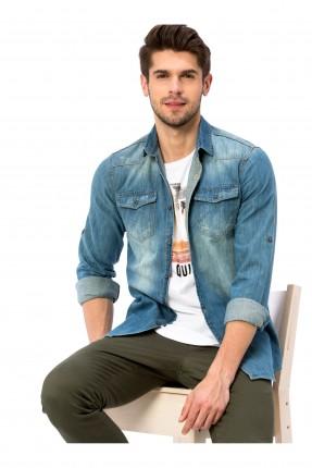 قميص رجالي جينز سبور