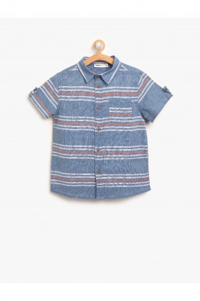 قميص اطفال ولادي مخطط