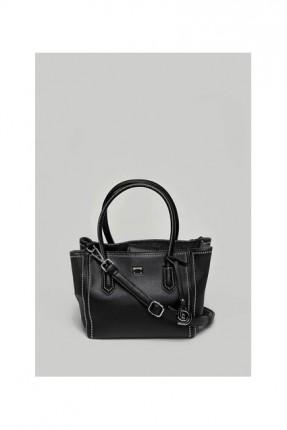 حقيبة يد نسائية رسمية جلد - اسود