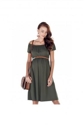 فستان حمل - خاكي