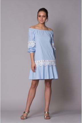 فستان سبور باكمام منخفضة قصير