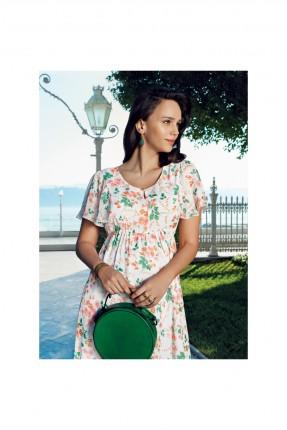 فستان حمل مزهر