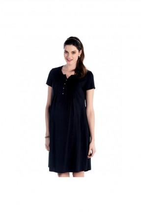 فستان حمل سبور - اسود