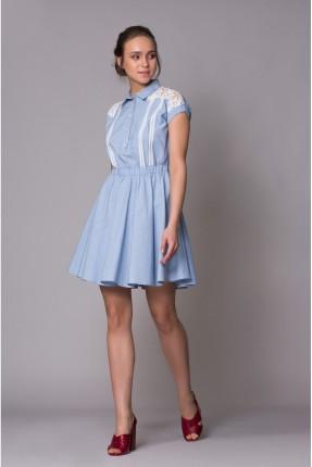 فستان سبور بازرار قصير - ازرق