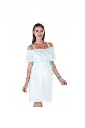 فستان حمل سبور منقط