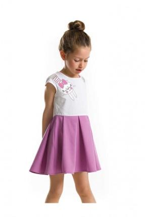 فستان اطفال بناتي مع طبعة