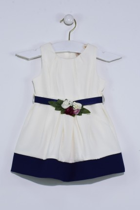 فستان بيبي بناتي مزين بورد