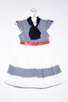 فستان اطفال بناتي منقط