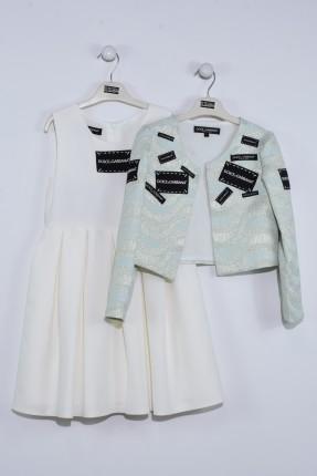 فستان اطفال بناتي مع جاكيت