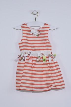 فستان اطفال بناتي نفش مخطط