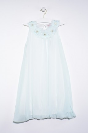 فستان اطفال بناتي مزين بورد