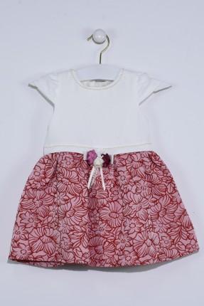 فستان اطفال بناتي مع ببيونة من الخلف