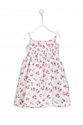 فستان اطفال بناتي بروتيل منقوش