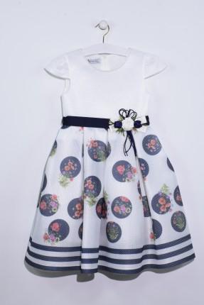 فستان اطفال بناتي نفش