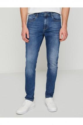 بنطال رجالي جينز سبور - ازرق
