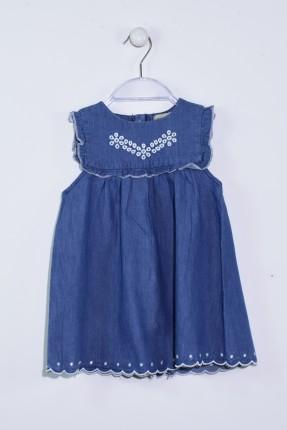 فستان بيبي حفر - ازرق داكن