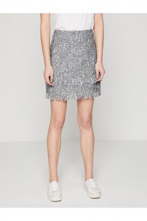 تنورة قصيرة مطبقة سبور شيك