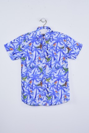 قميص اطفال ولادي مزخرف