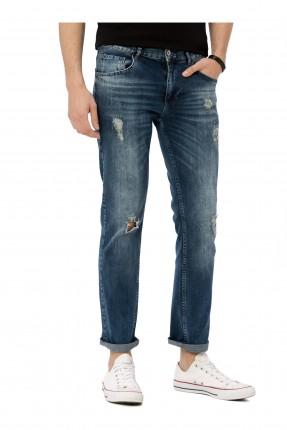 بنطال رجالي جينز ممزق سبور