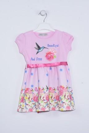 فستان اطفال بناتي مزهر