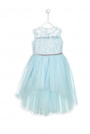 فستان اطفال حفر شيفون سبور