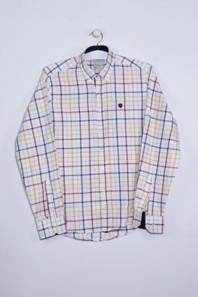 قميص رجالي كم طويل مخطط