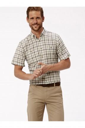 قميص رجالي نصف كم