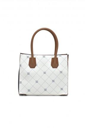 حقيبة يد نسائية - ابيض