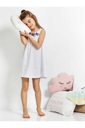 فستان نوم اطفال بناتي مزهرة