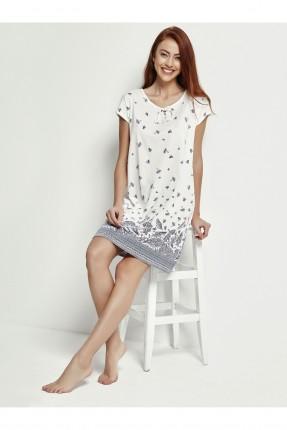 فستان نوم قصير مزخرف