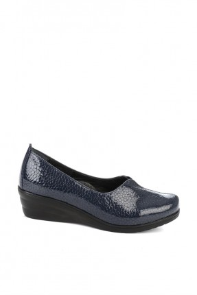 حذاء نسائي مزخرف _ ازرق داكن