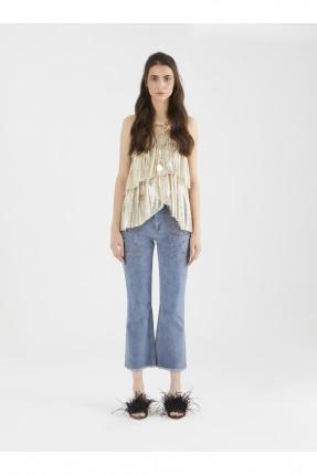 بنطال نسائي قصير جينز