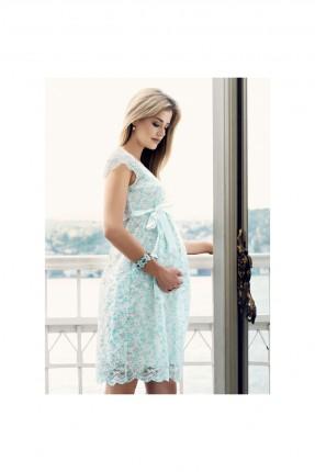 فستان حمل دانتيل مزهر