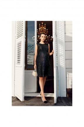 فستان حمل رسمي شك سيلان