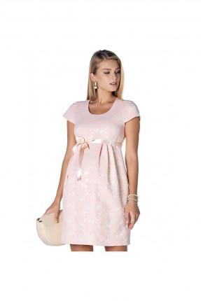 فستان حمل رسمي مزهر