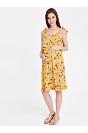 فستان سبور للحمل مزهر
