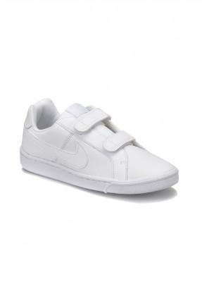بوط اطفال ولادي رياضي Nike - ابيض