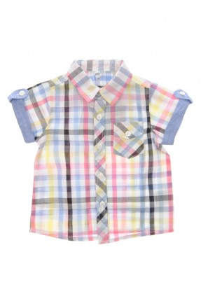 قميص بيبي ولادي كاروهات
