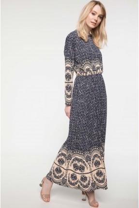 فستان سبور مزخرف كم طويل